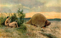 Glyptodon. Harder H. 1920 (domaine public)